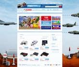 Graphic Design Inscrição do Concurso Nº8 para Website Design for RetroGaming Shop on Magento