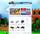 Graphic Design Inscrição do Concurso Nº9 para Website Design for RetroGaming Shop on Magento