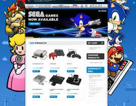 nº 16 pour Website Design for RetroGaming Shop on Magento par impact27