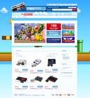 Graphic Design Inscrição do Concurso Nº4 para Website Design for RetroGaming Shop on Magento