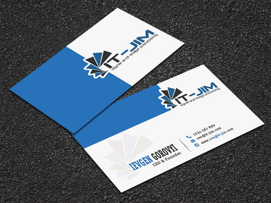 Entry 136 By Supersoul32 For Create A Perfect Business Card
