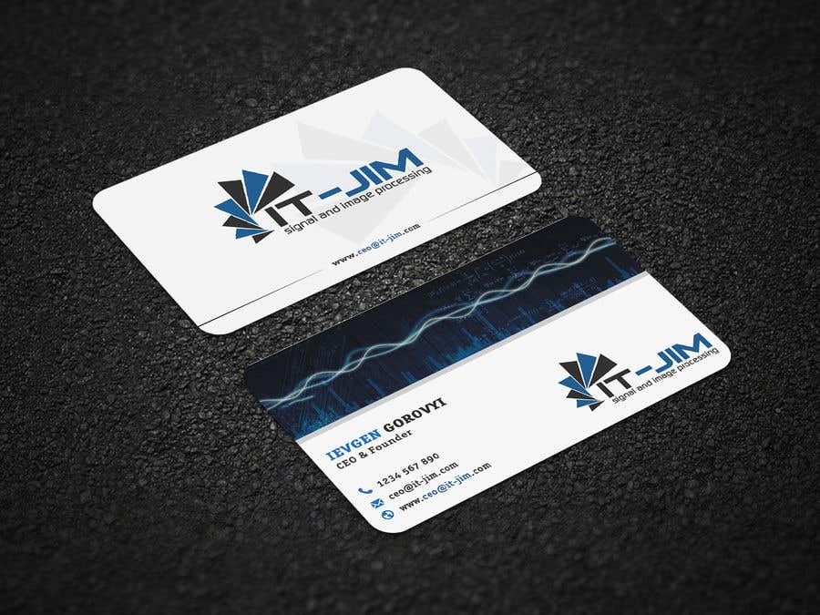 Entry 137 By Supersoul32 For Create A Perfect Business Card