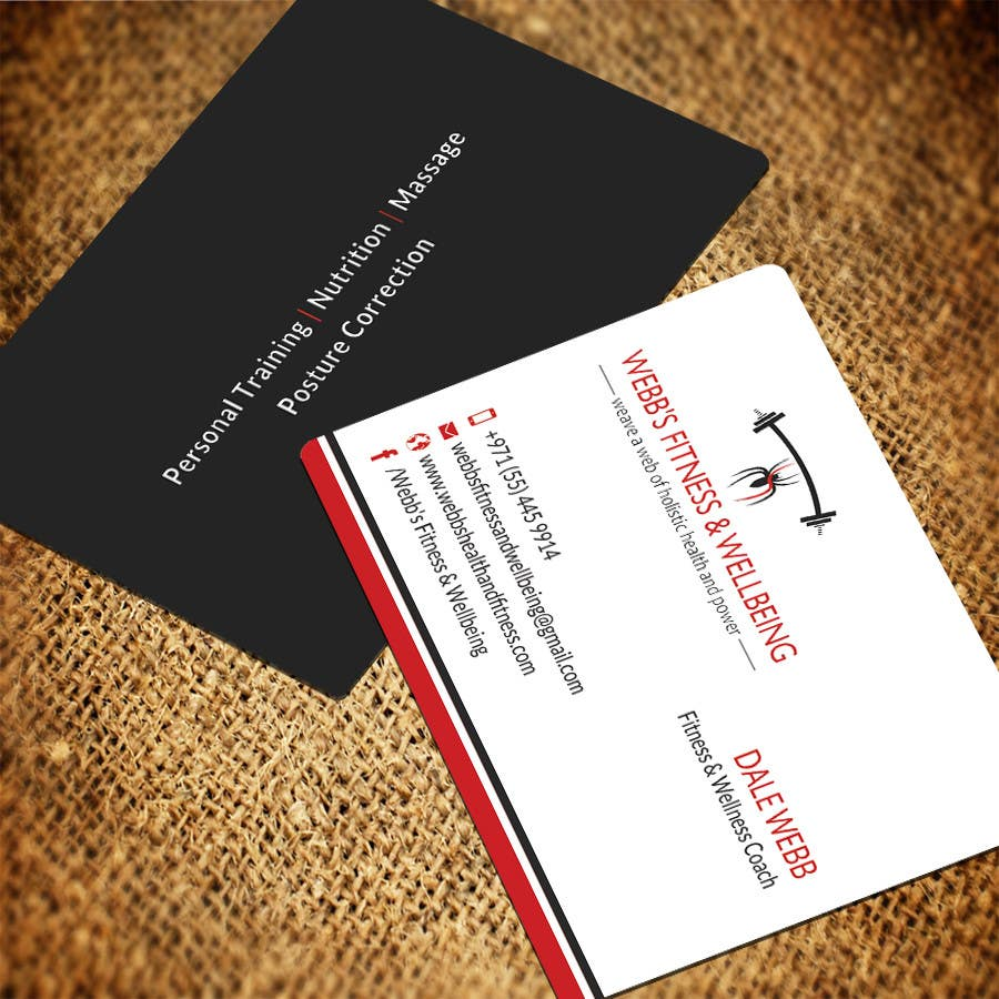 Entry #9 by SarahDar for Design some Business Cards for a Personal ...