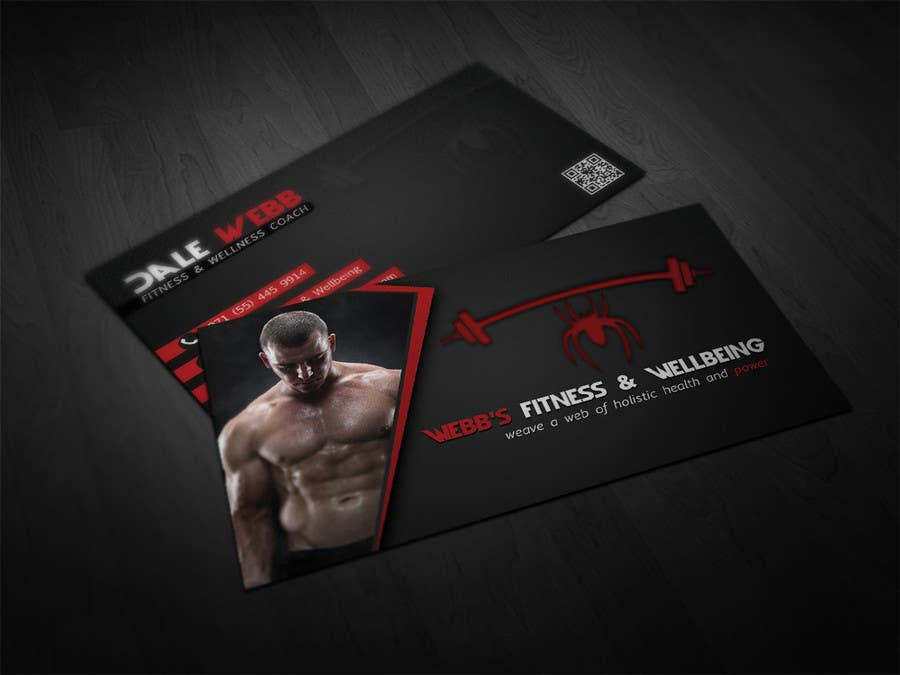 Entry 13 by makiskyrkos for design some business cards for a contest entry 13 for design some business cards for a personal fitness trainer colourmoves
