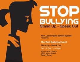#1 untuk Graphic Design for TicketPrinting.com ANTI-BULLYING POSTER & EVENT TICKET oleh roopfargraphics