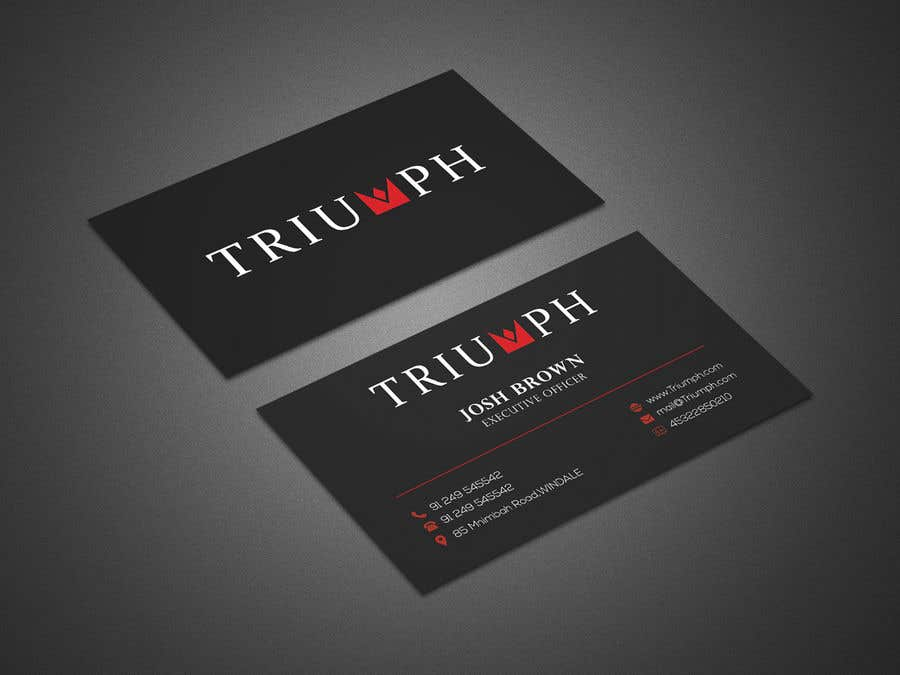 Contest Entry #255 for Design some Business Cards