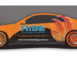 #29 untuk Car Wrap Design for RISE Technology Solutions oleh focused