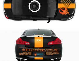nº 13 pour Car Wrap Design for RISE Technology Solutions par nikster08