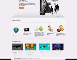 #48 para Wordpress Theme Design for iFFcom Uder+Ressle por skrboom