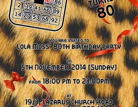mugshots tarafından Design some Stationery for Bingo Birthhday Party için no 6