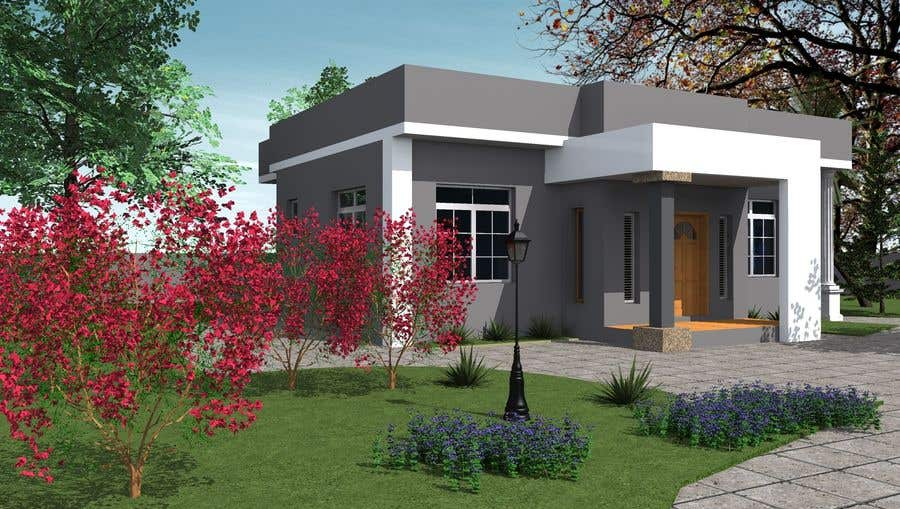 3d rendering of my house freelancer for My home 3d