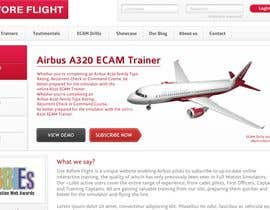 #20 para Website Design for Use Before Flight por aadilm