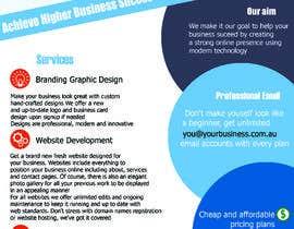#8 para Design a Flyer por maryamsairi94