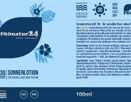 Nro 9 kilpailuun Erstellung bzw. Adaptierung 2x Etikett für Sonnencreme käyttäjältä griffindesing