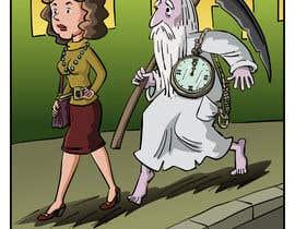pedroke tarafından Father Time Cartoon için no 10