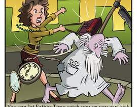 pedroke tarafından Father Time Cartoon için no 16