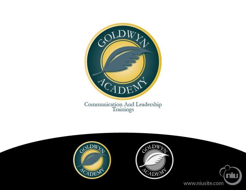 Конкурсная заявка №35 для Logo Design for Goldwyn Academy
