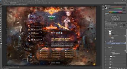 "Image of                             Design a Website Mockup ""Androme..."