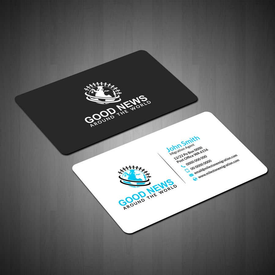contest entry 11 for quick business card and logo design for non profit organization - Non Profit Business Cards