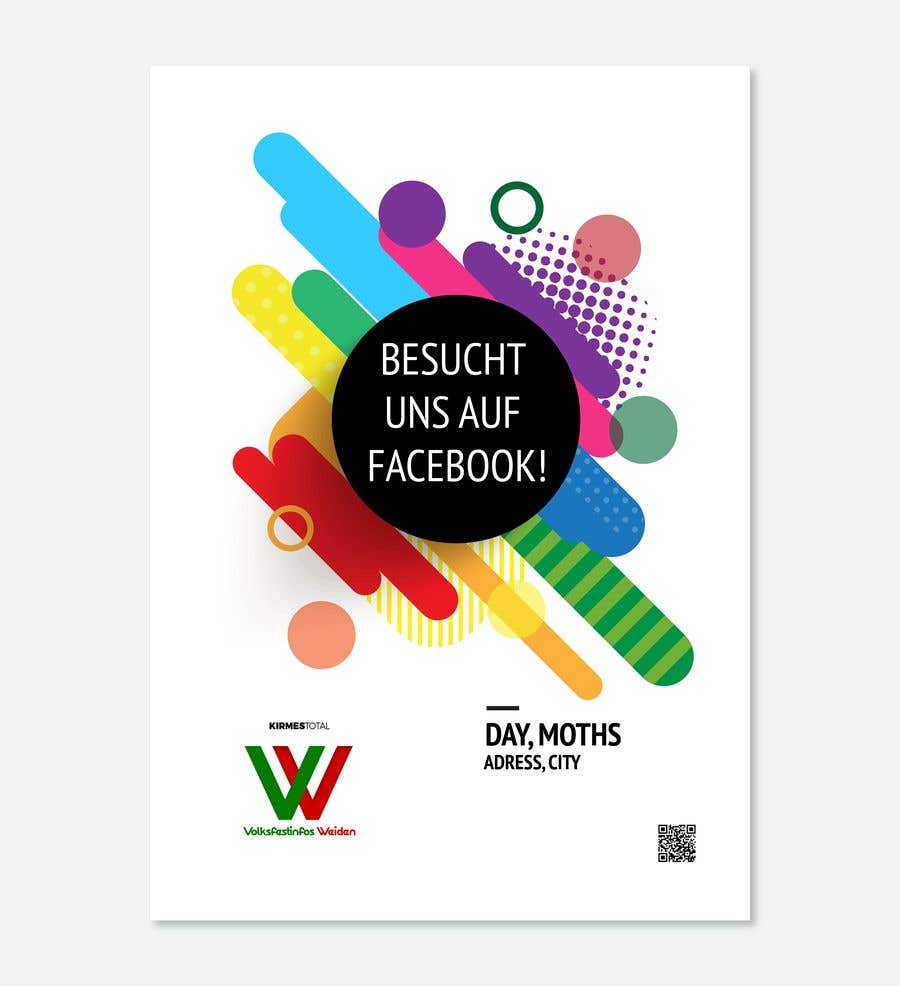 entry 15 by kilibayeva for design of simple creative poster