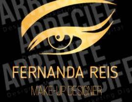#7 para Logotipo Fernanda Reis Make-up Designer por melisagsm7
