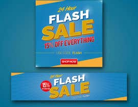 #6 untuk Design an email Banner + 2 matching website banners for a 24 hour flash sale oleh akidmurad