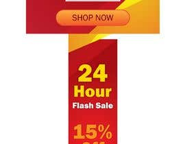 #2 untuk Design an email Banner + 2 matching website banners for a 24 hour flash sale oleh HimawanMaxDesign