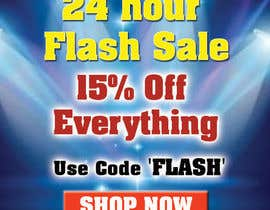 #3 untuk Design an email Banner + 2 matching website banners for a 24 hour flash sale oleh dsyro5552013