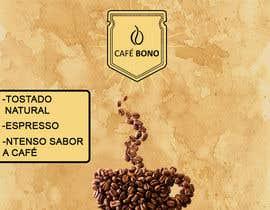 Nro 4 kilpailuun DESIGN A LABEL - CAFE BONO käyttäjältä OmarBou