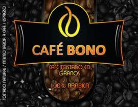 Nro 5 kilpailuun DESIGN A LABEL - CAFE BONO käyttäjältä eldinomeragic