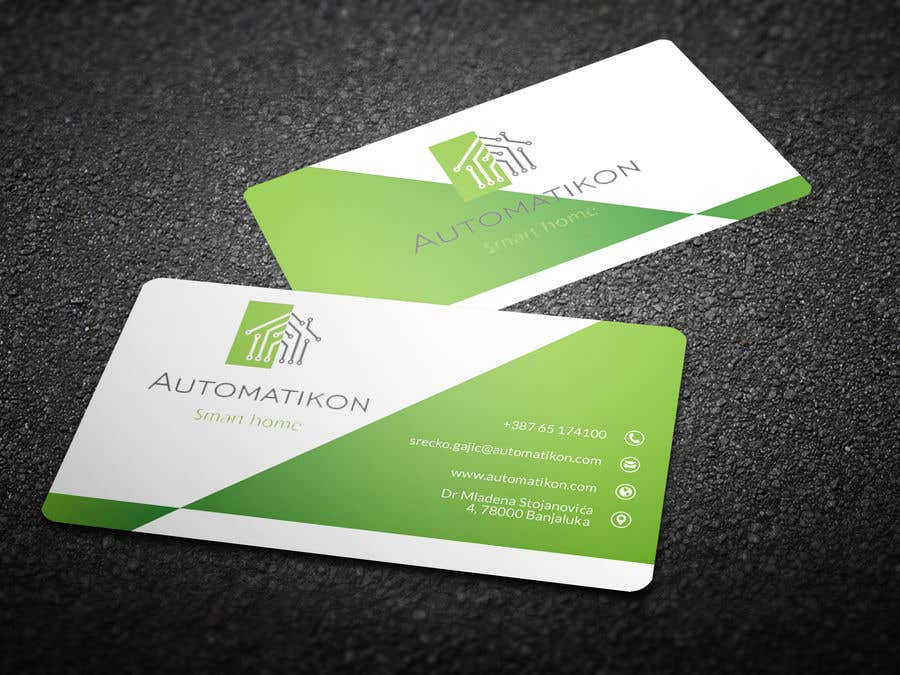 Entry #92 by chandrarahuldas for Design Business Cards for Smart ...