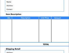 #10 untuk Design our invoice template oleh iqbalkhatri55