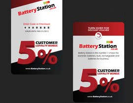 #50 for Business Card Design for Battery Station af csoxa