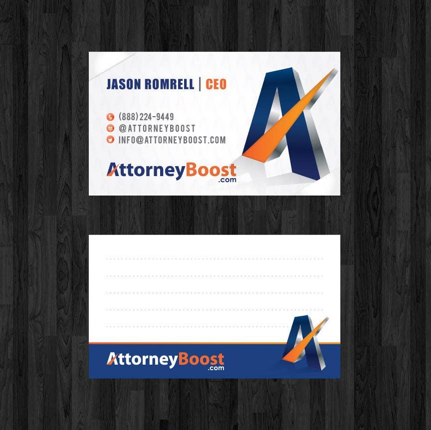 Konkurrenceindlæg #186 for Business Card Design for AttorneyBoost.com