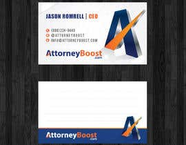 nº 186 pour Business Card Design for AttorneyBoost.com par thanhsugar86