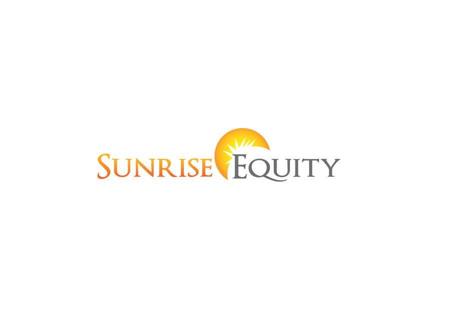Penyertaan Peraduan #783 untuk Logo Design for Sunrise Equity