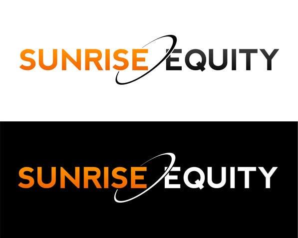 Penyertaan Peraduan #850 untuk Logo Design for Sunrise Equity