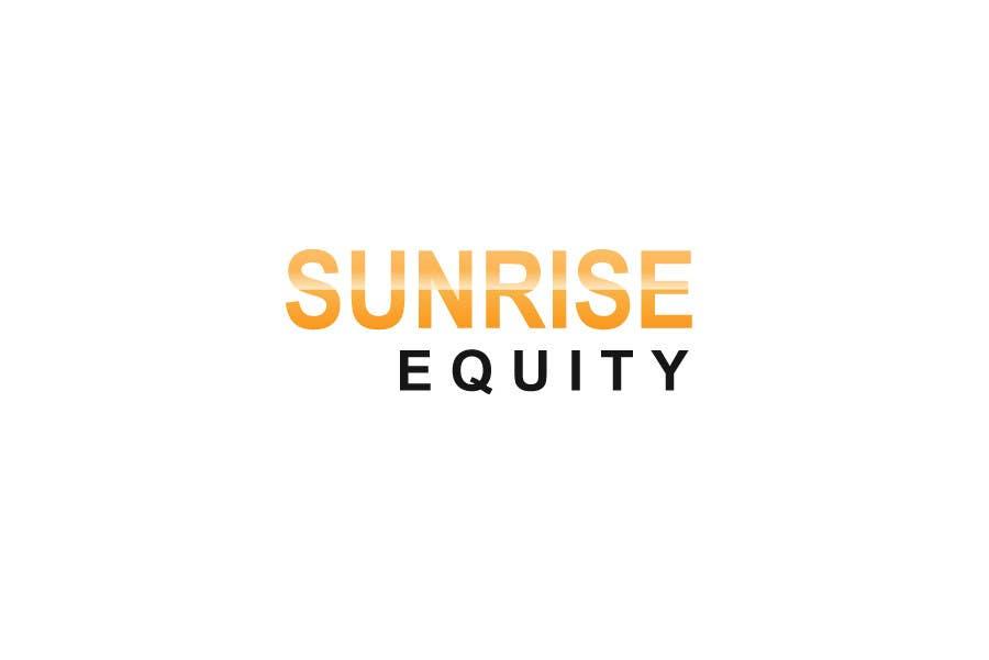 Конкурсная заявка №773 для Logo Design for Sunrise Equity