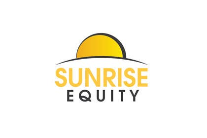 #704 para Logo Design for Sunrise Equity por iffikhan
