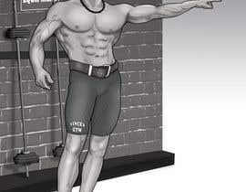 Nro 18 kilpailuun Bodybuilding Book Sketch käyttäjältä elinavarro