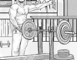Nro 11 kilpailuun Bodybuilding Book Sketch käyttäjältä rli5903e7bdaf196