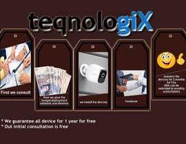 #23 cho Graphic Designs for Teqnologix.com bởi Jyotirmoypal