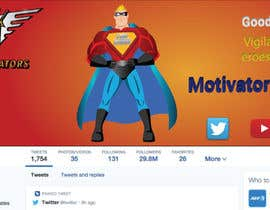 Číslo 18 pro uživatele Design a Banner/Facebook/Twitter Illustrations for Hero Motivators od uživatele bdfaisal