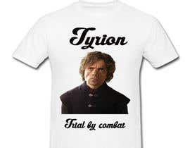 "#2 for Create a ""Tyrion -  Trial by combat"" Illustration for a t-shirt by Poojaveerwani"