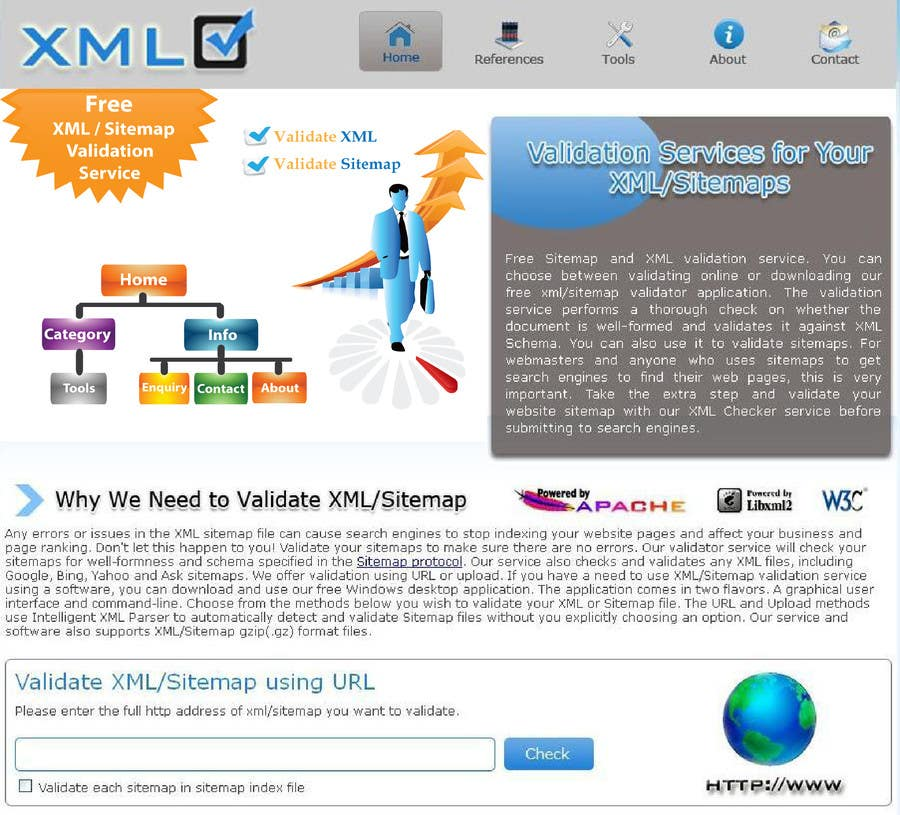 #31 for Graphic Design for http://www.xmlcheck.com by ajchawre