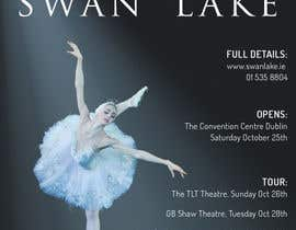 nº 90 pour Graphic Design for Swan Lake par foenlife