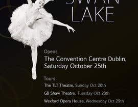 nº 88 pour Graphic Design for Swan Lake par pris
