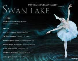 nº 72 pour Graphic Design for Swan Lake par andrealabandera