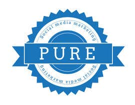 #139 para Logo Design for PURE Social Media Marketing por GagaSnaga