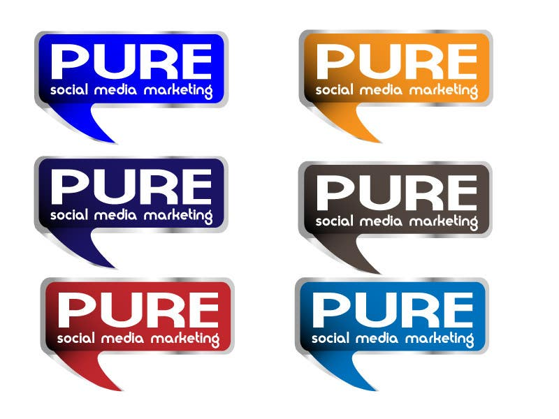 Конкурсная заявка №65 для Logo Design for PURE Social Media Marketing